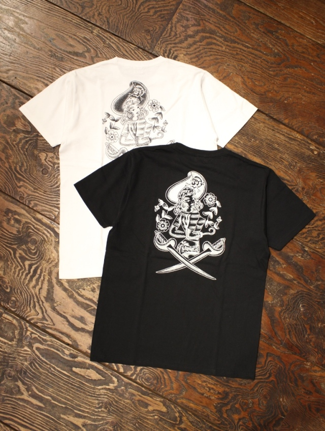 DOZEN ONE  「PIRATES T-SHIRT」 プリントティーシャツ