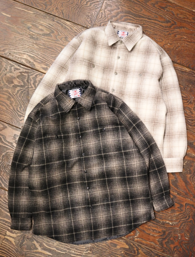 SON OF THE CHEESE  「Quilt CPO」  ビッグシルエットCPOシャツ