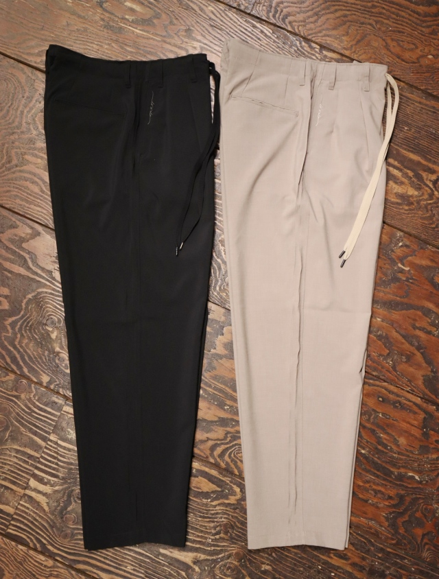 RADIALL    「MONTE CALRO - WIDE FIT TROUSERS 」 イージータイプ トラウザーズ