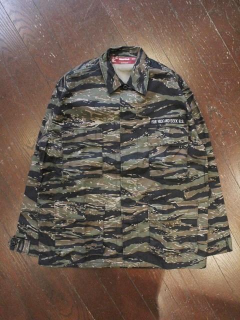 HIDEANDSEEK 「Shop Coat」 シャツジャケット