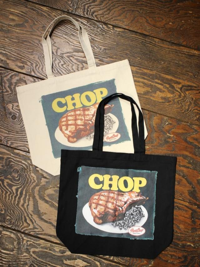 【 12月12日 12時~ 発売開始! 】   PORKCHOP GARAGE SUPPLY   「 CHOP TOTE 」 トートバッグ