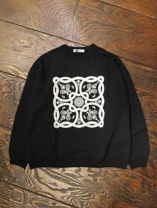 COOTIE  「Print Crewneck Sweatshirt (BANDANA) 」 クルーネックスウェット