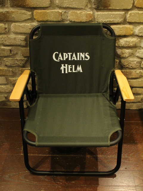 CAPTAINS HELM  「# CAMP CHAIR」  フォールディングチェア