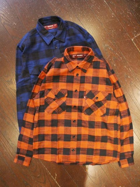 HIDEANDSEEK 「Buffalo Check L/S Shirts」 チェックシャツ