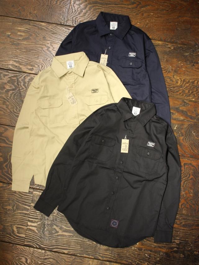 M&M CUSTOM PERFORMANCE   「WORK L/S SHIRT」 ワークシャツ