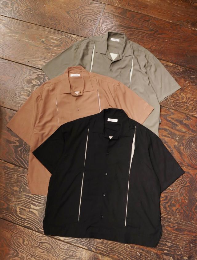 RADIALL  「ON THE CORNER - OPEN COLLARED SHIRT S/S」  オープンカラーシャツ