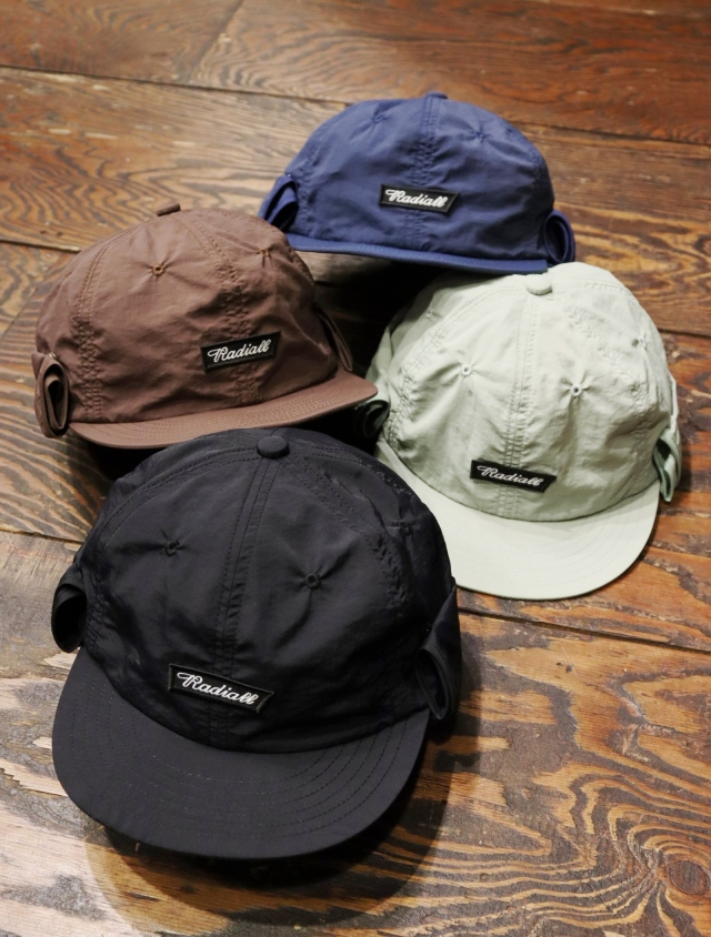 RADIALL    「FLAGS - CAMP CAP」 キャンプキャップ
