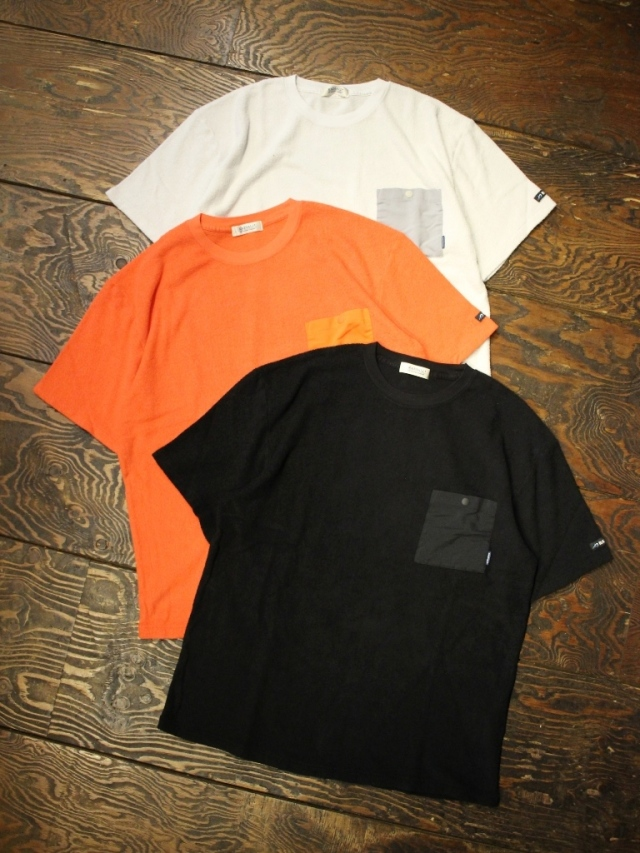 RADIALL    「BAJA - CREW NECK POCKET T-SHIRT S/S」 パイルティーシャツ