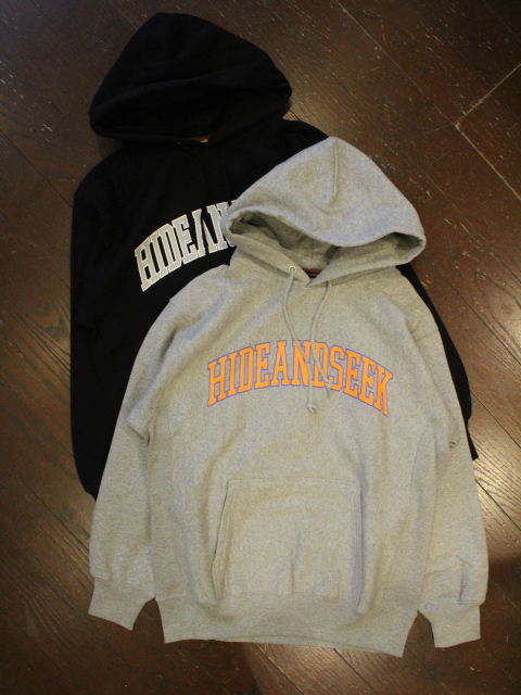 HIDEANDSEEK 「College Logo Hooded Sweat Shirt」 プルオーバーパーカー