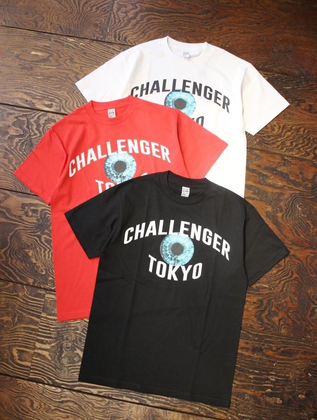 CHALLENGER   「TOKYO EYE TEE」 プリントティーシャツ