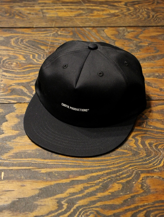 COOTIE   「Twill 5 Panel Cap 」  ツイルキャップ