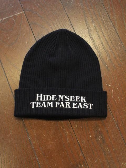 HIDEANDSEEK 「TEAM FAR EAST Rib Knit CAP」 ニットキャップ