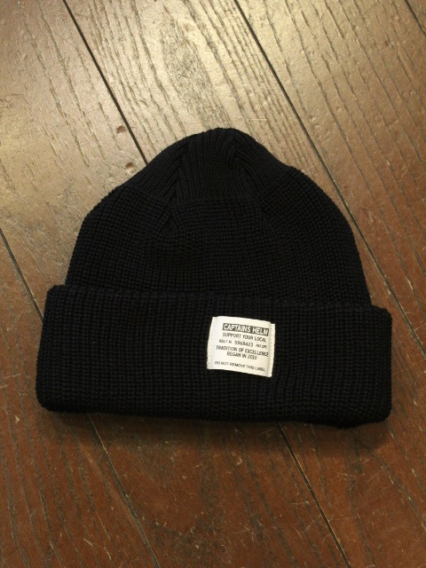 CAPTAINS HELM  「#MILITARY SUMMER WATCH CAP」 ワッチキャップ