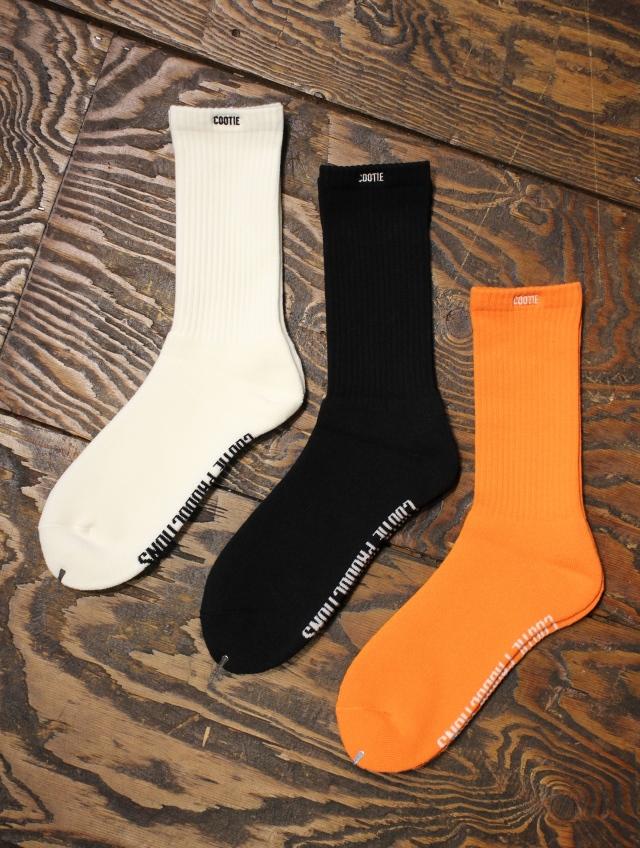 COOTIE    「Raza Socks (LOGO)」  ソックス