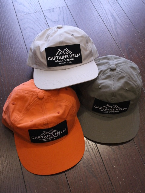 CAPTAINS HELM 「#GEAR COMPANY WATER-PROOF CAMP CAP」 キャンプキャップ