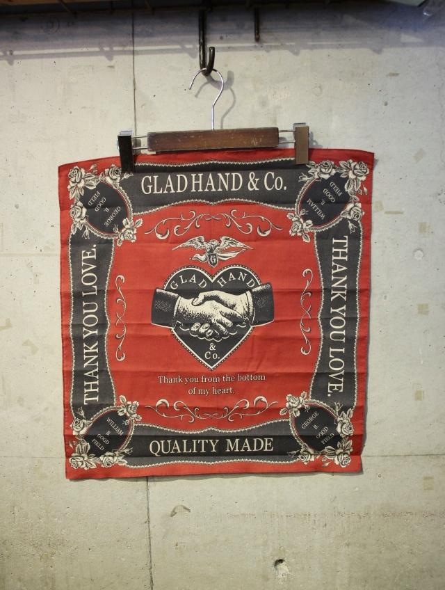 GLAD HAND   「GH  - BANDANA」  バンダナ