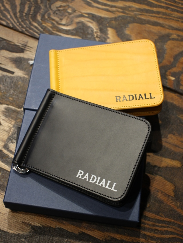 RADIALL    「PLAIN - MONEY CLIP BILLFOLD」  レザーウォレット