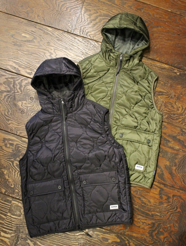RADIALL  「SURFIN' BIRD - QUILTED VEST」  キルトベスト