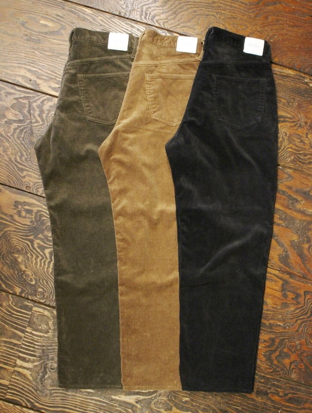 RADIALL    「MOTOWN - WIDE FIT PANTS 」 コーデュロイパンツ