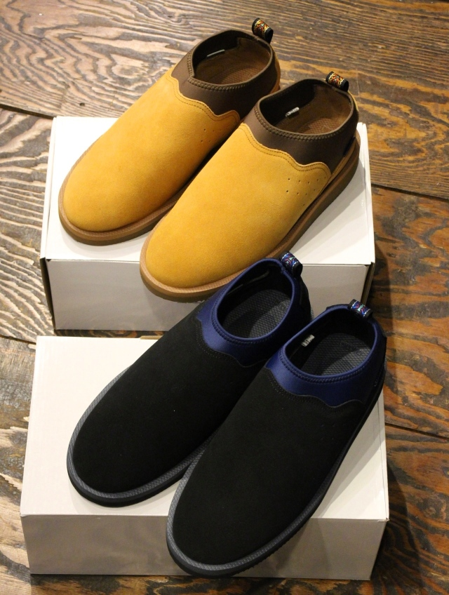 RADIALL × SUICOKE  「SIERRA - MOC BOOTS / RON-VM2-MID」 モックシューズ