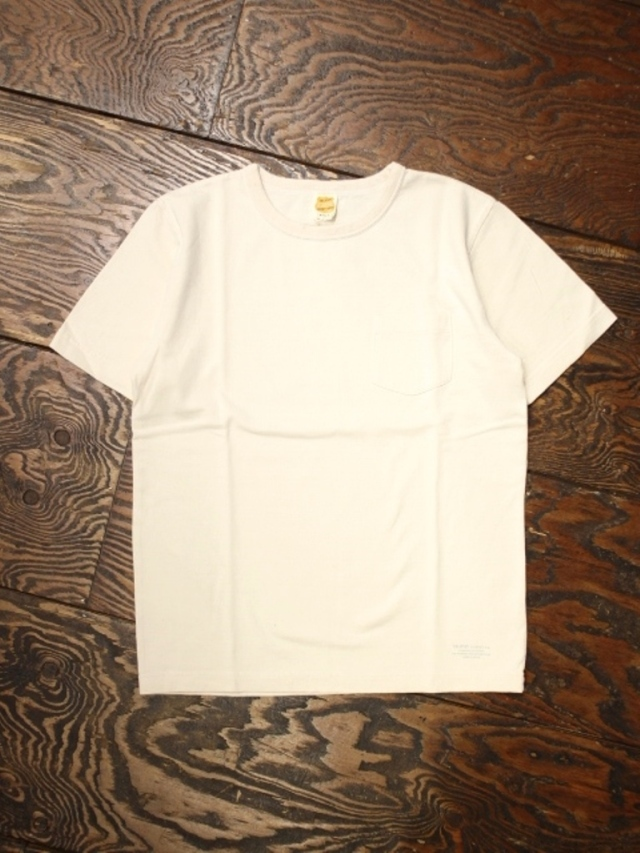 TROPHY CLOTHING  「OD Volume Cotton Pocket Tee 」  ポケットティーシャツ