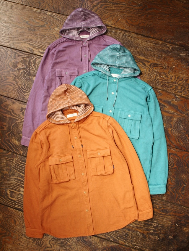 RADIALL  「SLAP BASS - HOODED SHIRT L/S」 フーディーシャツ