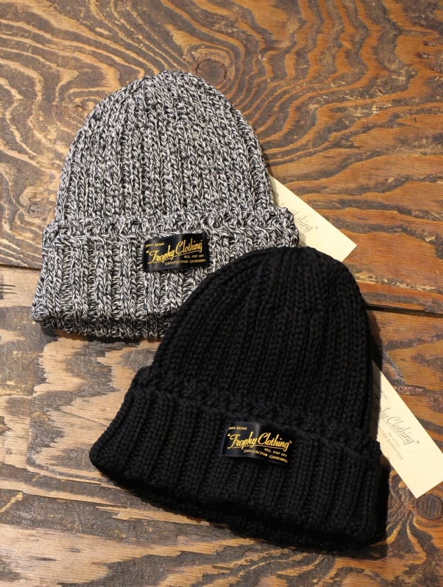 TROPHY CLOTHING   「Low Gauge Knit Cap」 ローゲージ ニットキャップ