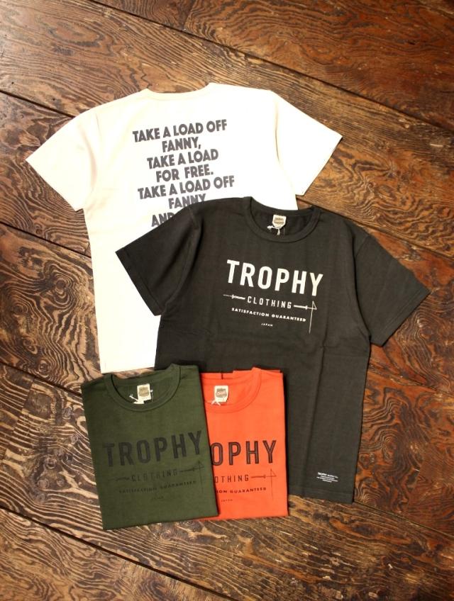 TROPHY CLOTHING  「Weight Crew Tee」  ボリュームコットン ティーシャツ