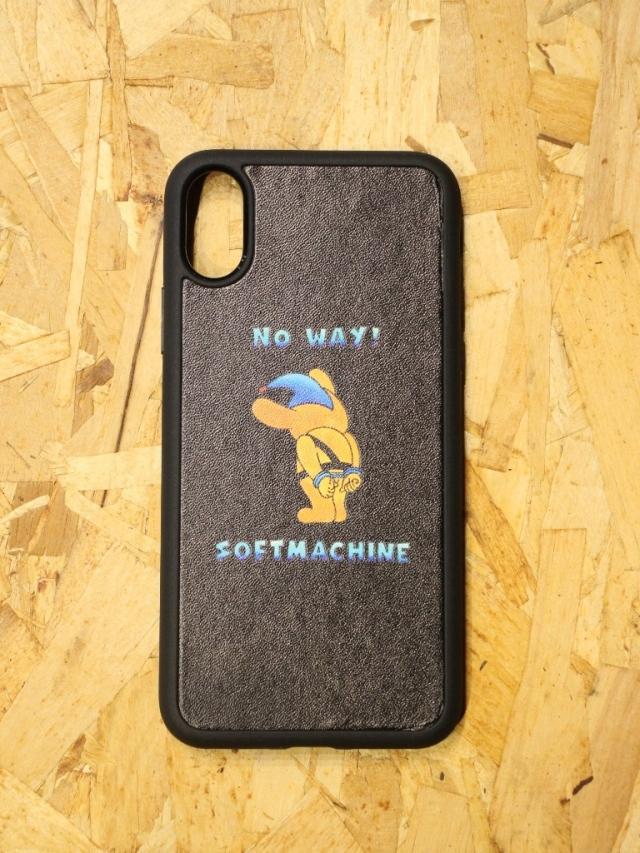 SOFTMACHINE   「NO WAY iPhone CASE X & XS」 iPhone X & XS ケース