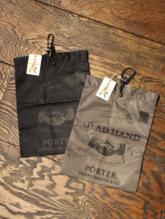 PORTER × GLAD HAND  「GH - SNACK PACK POUCH 〈MEDIUM〉」  ポーチ