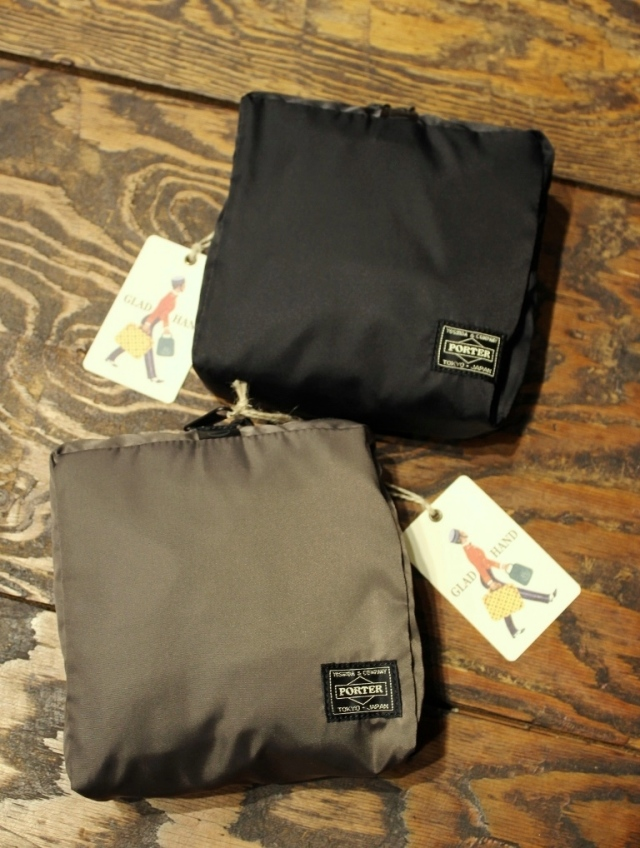 PORTER × GLAD HAND  「GH - SNACK PACK PACKABLE BOSTON BAG」  パッカブルタイプ ボストンバッグ