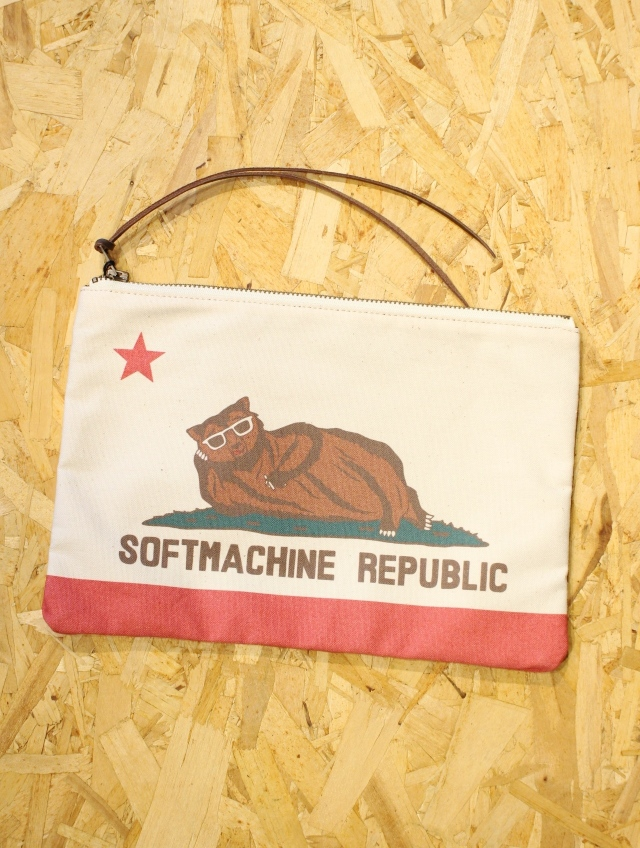 SOFTMACHINE   「CHILLIN' POUCH」 ポーチ