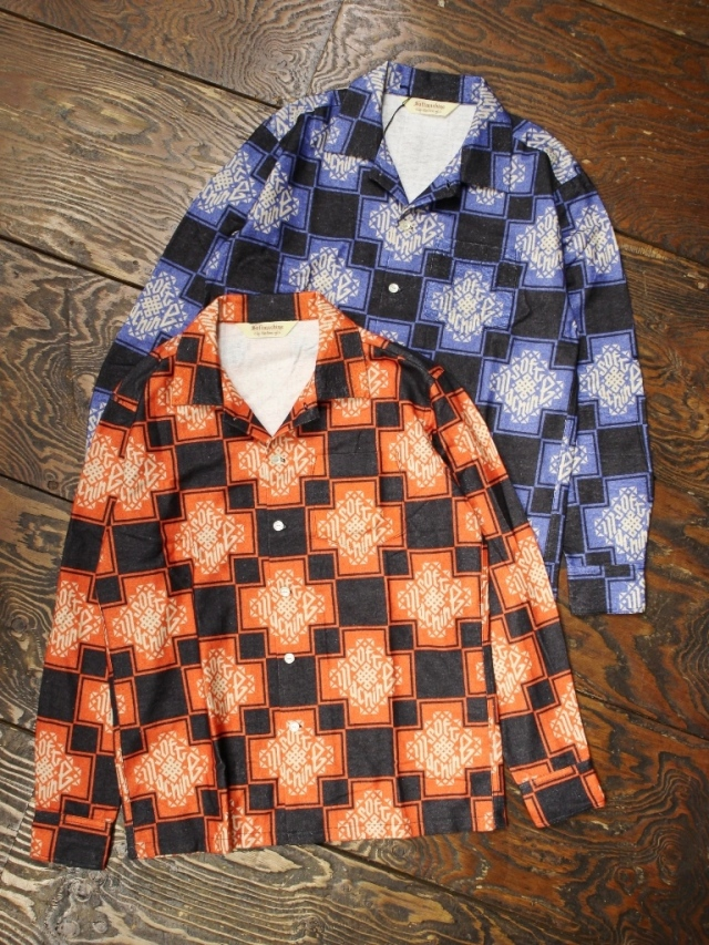 SOFTMACHINE  「TRIBUS SHIRTS L/S」 フランネルシャツ