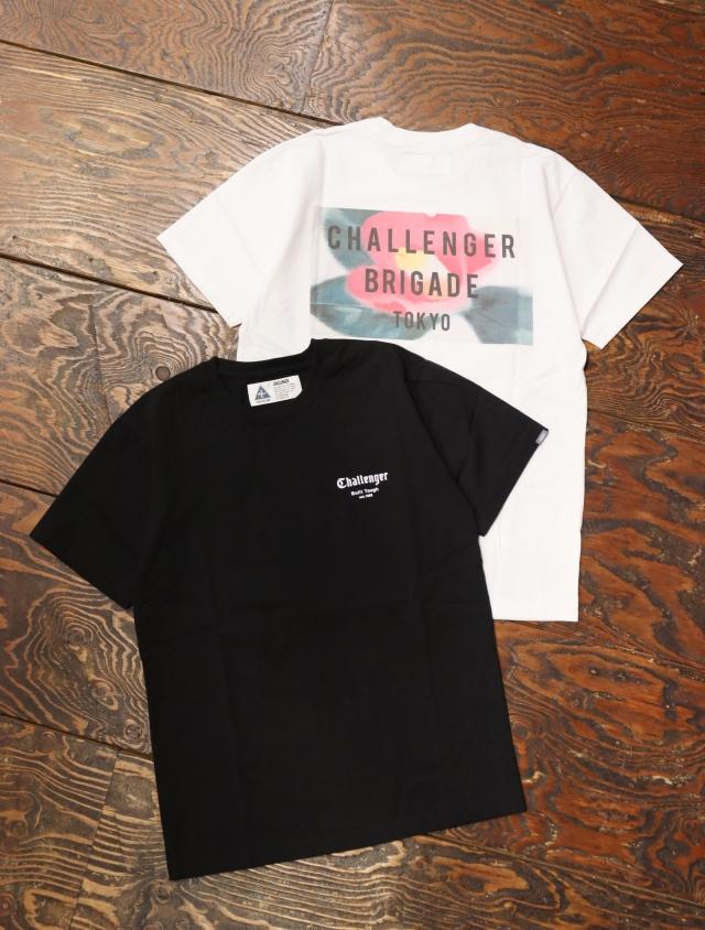 CHALLENGER  「CAMELLIA TEE」  プリントティーシャツ