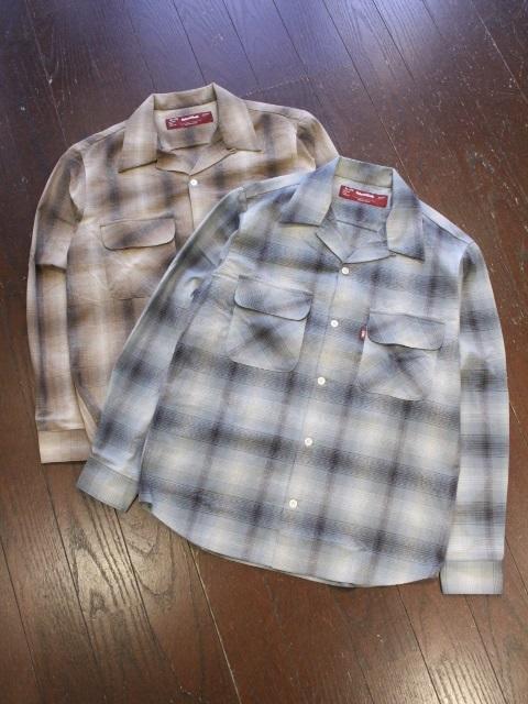HIDEANDSEEK 「Check L/S Shirts」 チェックシャツ