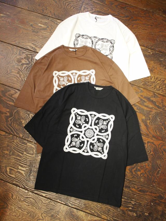 COOTIE  「Print S/S Tee (BANDANA)」  プリントティーシャツ