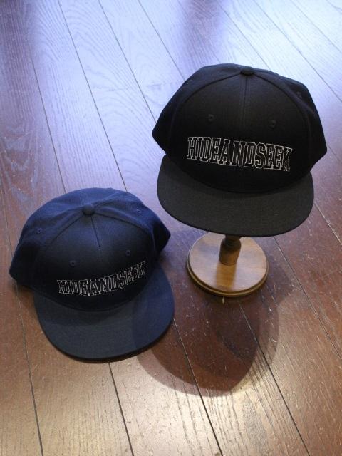 HIDEANDSEEK 「Baseball CAP」 ベースボールキャップ