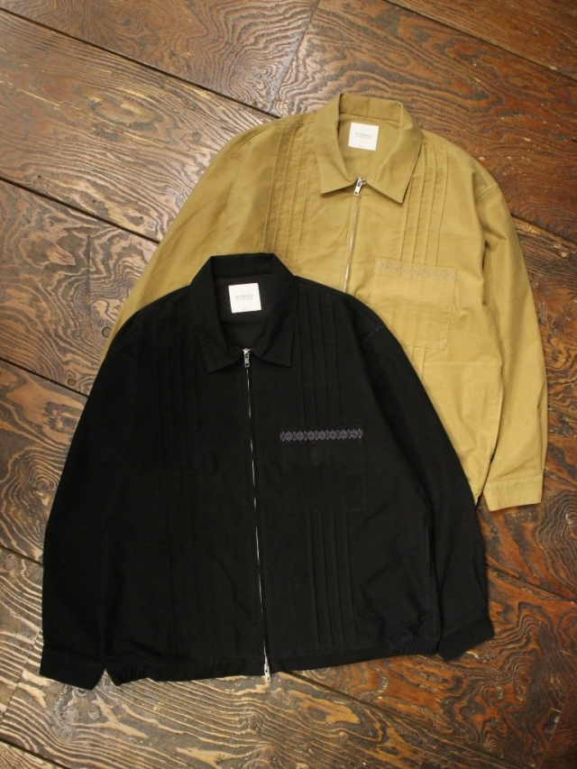 RADIALL  「MUSCLE SHOALS - ZIP UP BLOUSON」  ジップアップブルゾン
