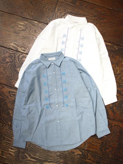 RADIALL  「FIESTA - REGULAR COLLARED SHIRT L/S」  レギュラーカラーシャンブレーシャツ