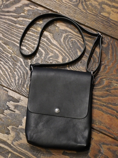 ANTIDOTE BUYERS CLUB by Cootie Productions   「Leather Shoulder Bag」 レザーショルダーバッグ