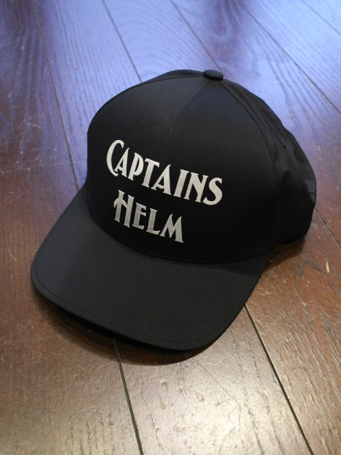 CAPTAINS HELM 「#LOGO WATER-PROOF CAP」 6パネルキャップ