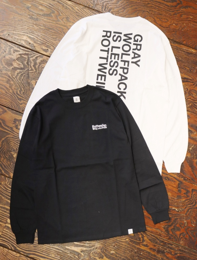 ROTTWEILER  「B.P LS TEE」  プリントロンティー