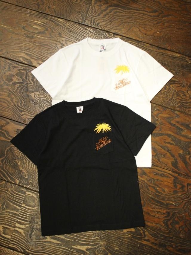 SOFTMACHINE  「FINGER TREE - T」 ポケットティーシャツ