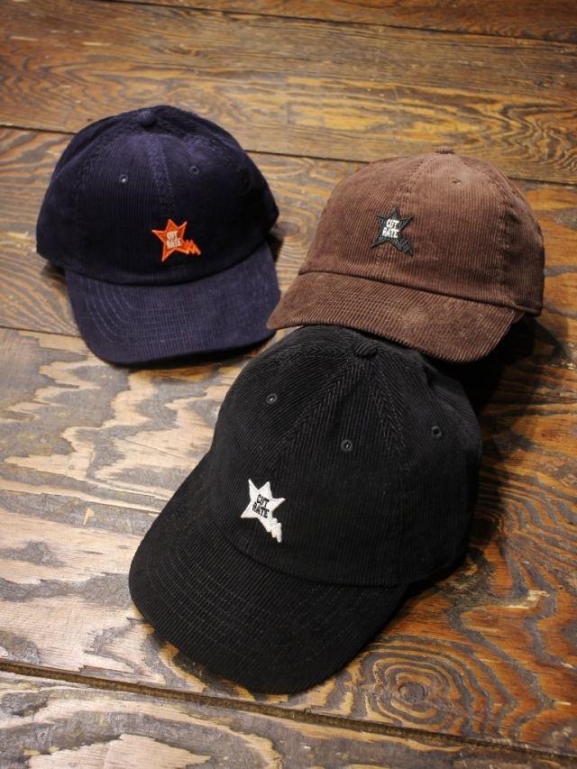 CUT RATE  「ORIGINAL STAR LOGO CAP」   コーデュロイキャップ