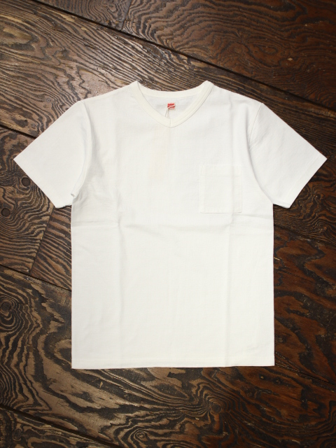 TROPHY CLOTHING  「Loop Wheel V Neck Tee」 Vネックポケットティーシャツ