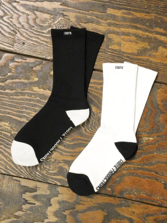 COOTIE   「 Raza Socks (2 TONE) 」  2トーンソックス
