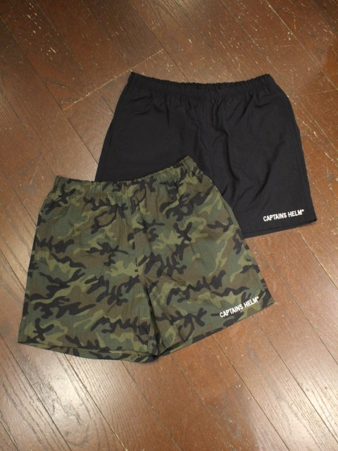 CAPTAINS HELM 「#RUNNING NYLON SHORTS」 ナイロンショーツ