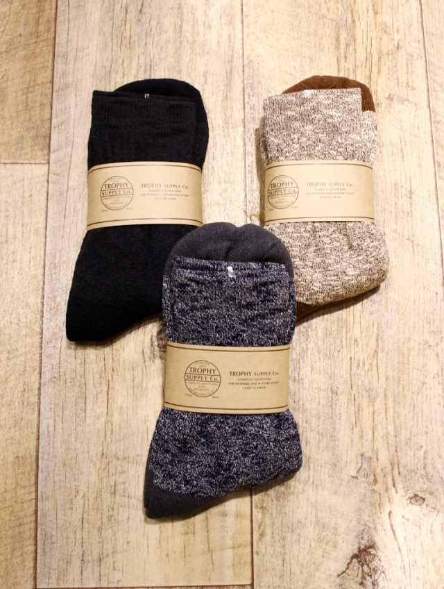 TROPHY CLOTHING  「Slab Boots Socks 」 ブーツソックス