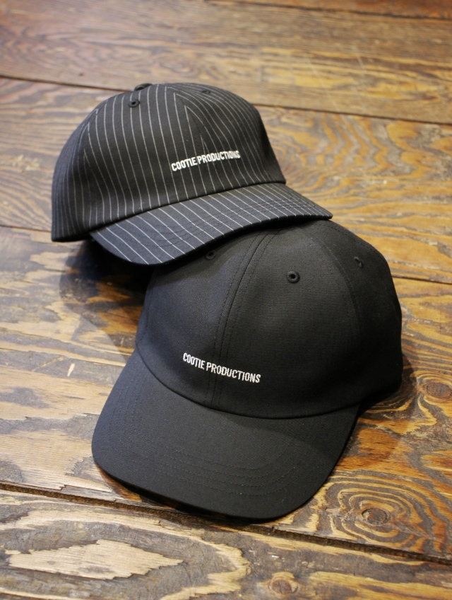 COOTIE   「 T/R 6 Panel Curved Brim Cap 」  6パネルキャップ