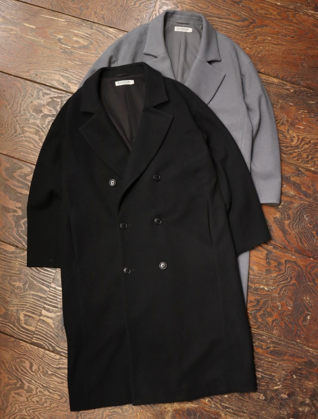 COOTIE  「 Wool Mossa Double Chester Coat 」 ダブルチェスターコート